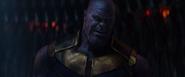 Thanos tras amenazar a Gamora