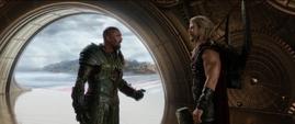 Thor habla con Skurge
