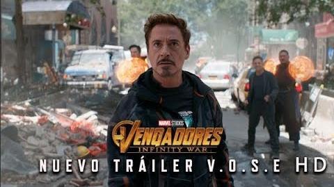 Vengadores Infinity War de Marvel Nuevo Tráiler Oficial en V.O.S