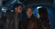 Thor habla con Gamora