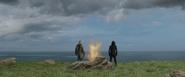 Thor y Loki ven desaparecer a Odín