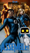 Fantastic Four Outlaws Poster