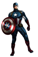 Captain America Third suit