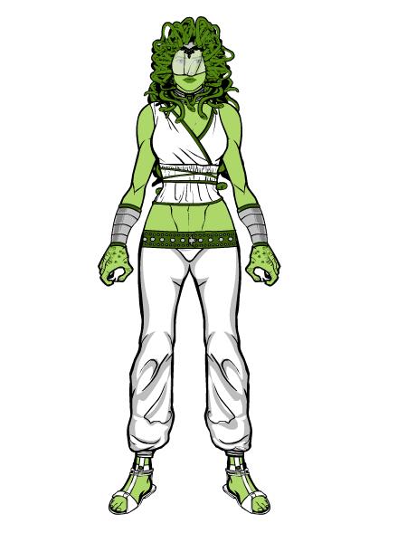 Medusa Amaquelin (Earth-515)