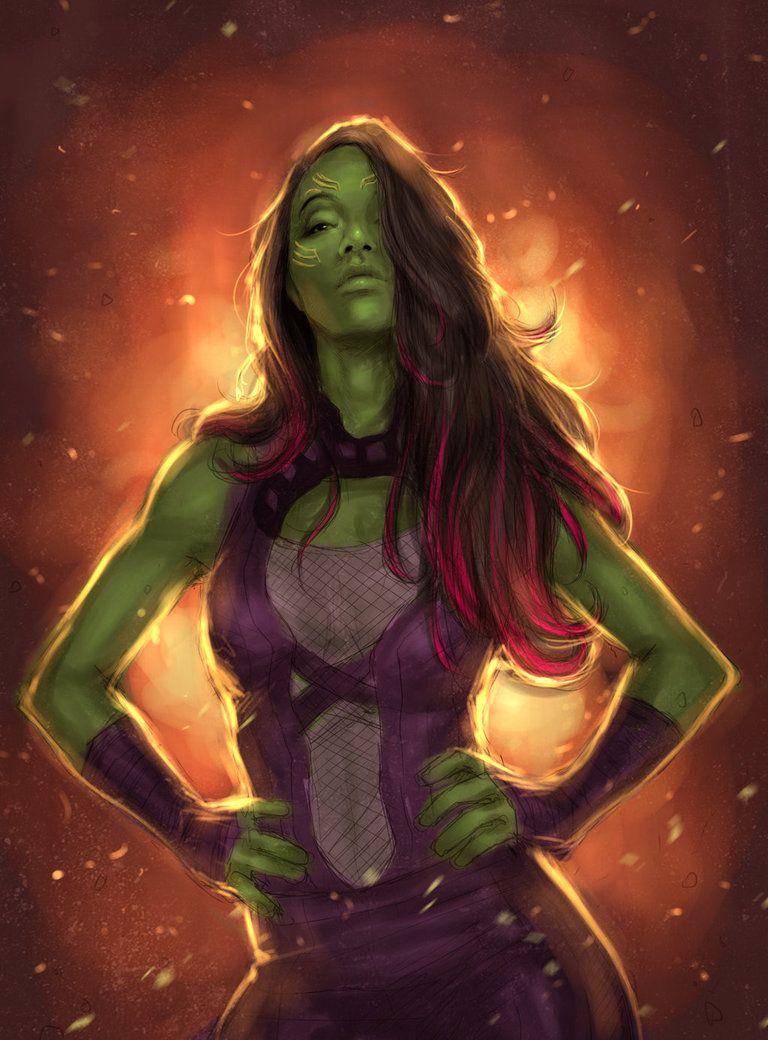 Gamora Zen-Whoberi (Earth-101)