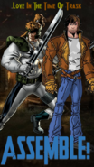 Shatterstar and Rictor Poster