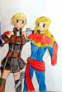 Captain marvel my mother 2 chapter 1 preview by e31 ddqfyeg-pre