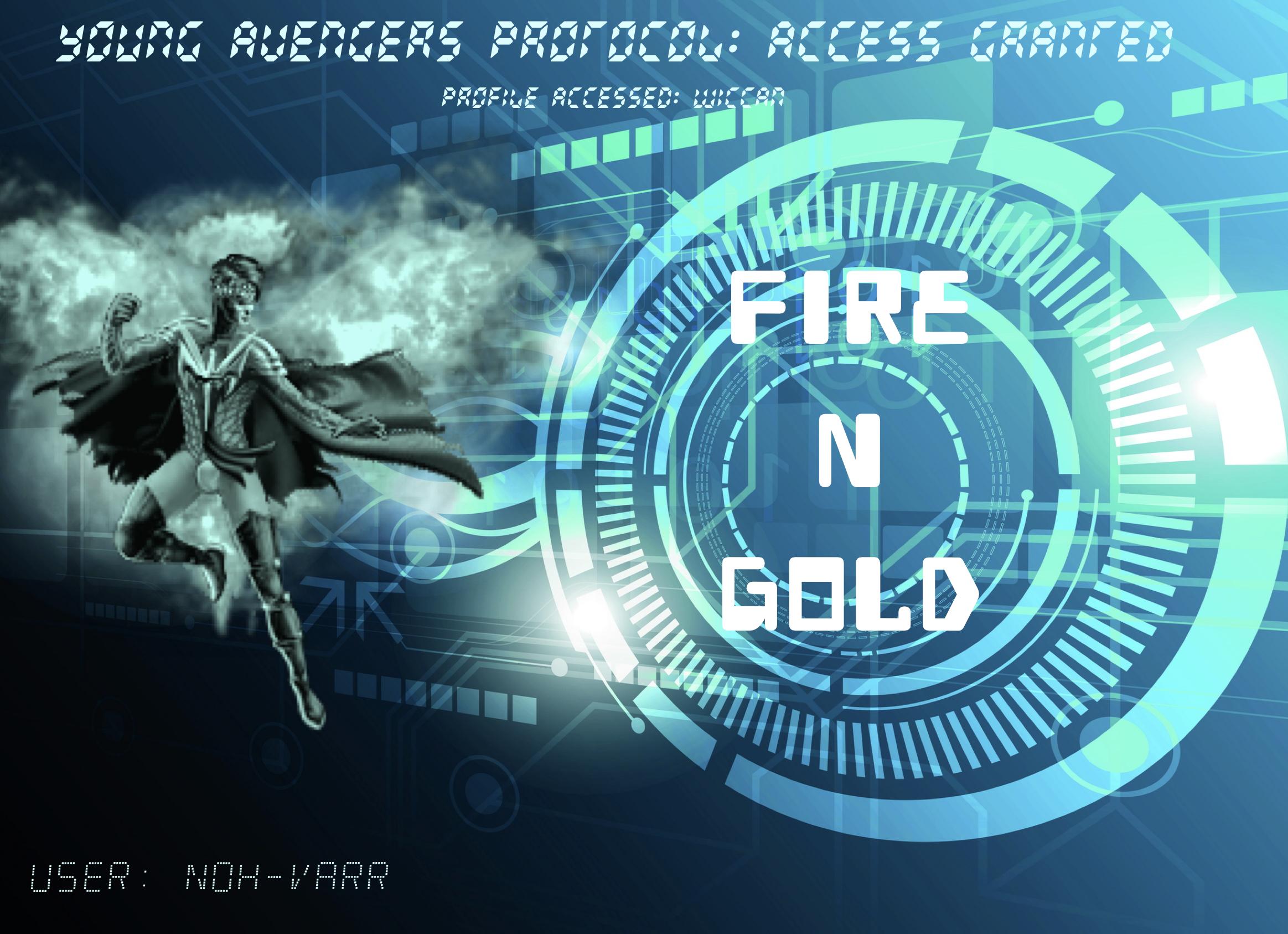 Fire N Gold (YA)