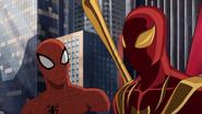 Iron Spider and Spider-Man 1