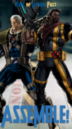 Cable and Bishop Poster