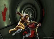 SabretoothVsGambit-MutantMassacre