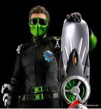 New Green Goblin 2099 Armor