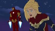 Captain Marvel & Iron Man 01