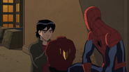 Amadeus Cho and Spider-Man 1