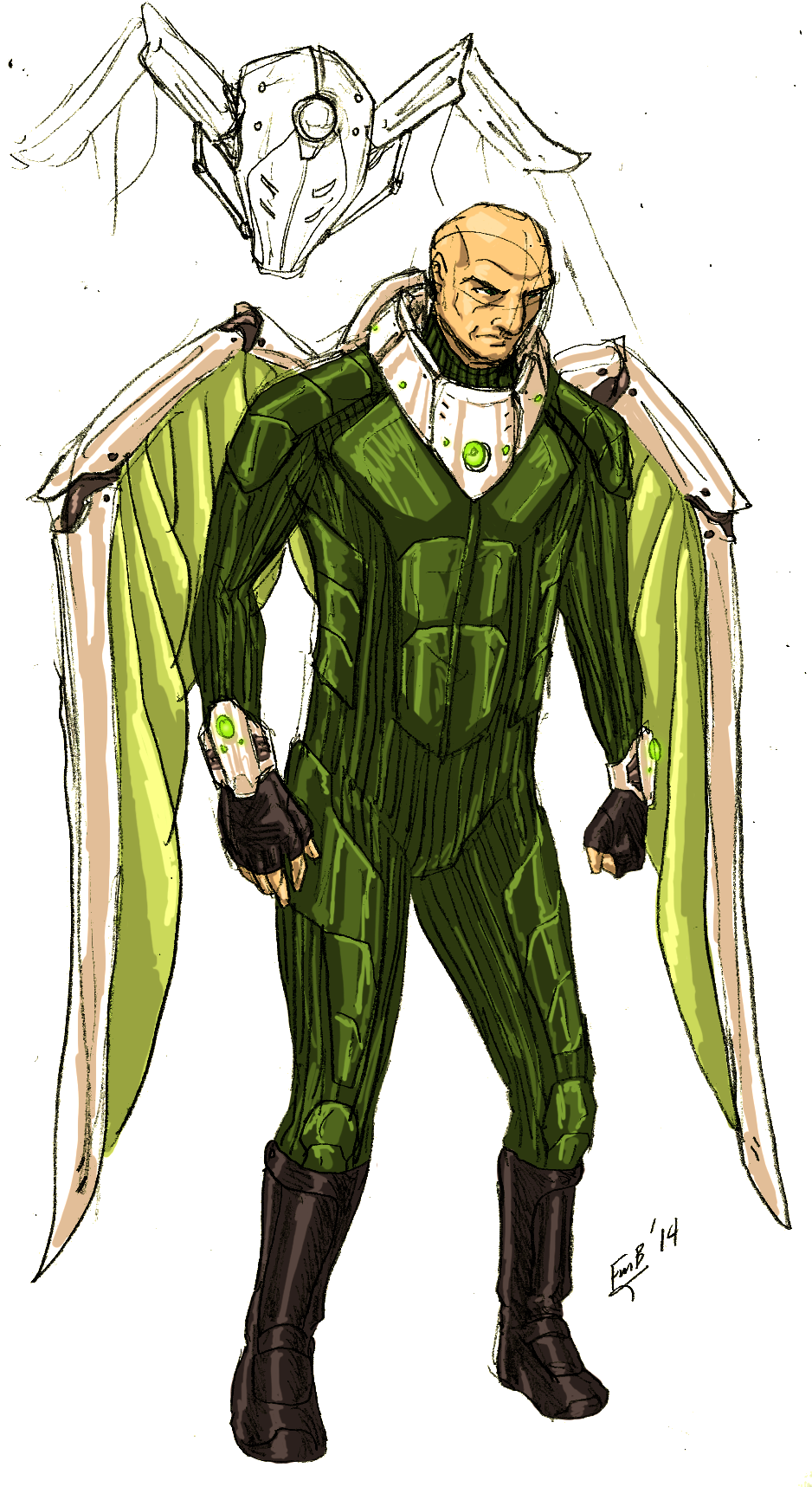 Blackie Drago (Earth-1111)