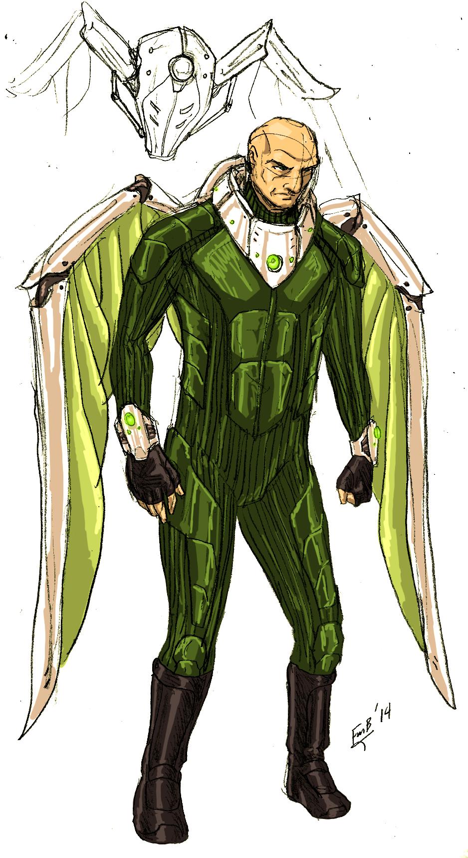 Blackie Drago (Earth-1111)