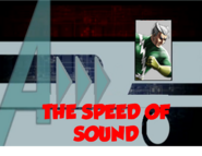 The Speed of Sound (A!)