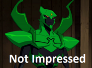 Green Beetle is Not Impressed