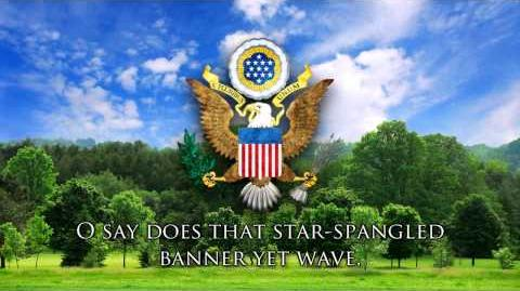 """National Anthem of the USA - """"The Star-Spangled Banner"""""""