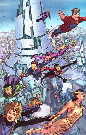 Generic Kryptonians before Krypton's destruction.