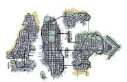 Liberty City Map