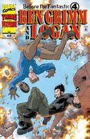 Before the Fantastic Four Ben Grimm and Logan Vol 1 3