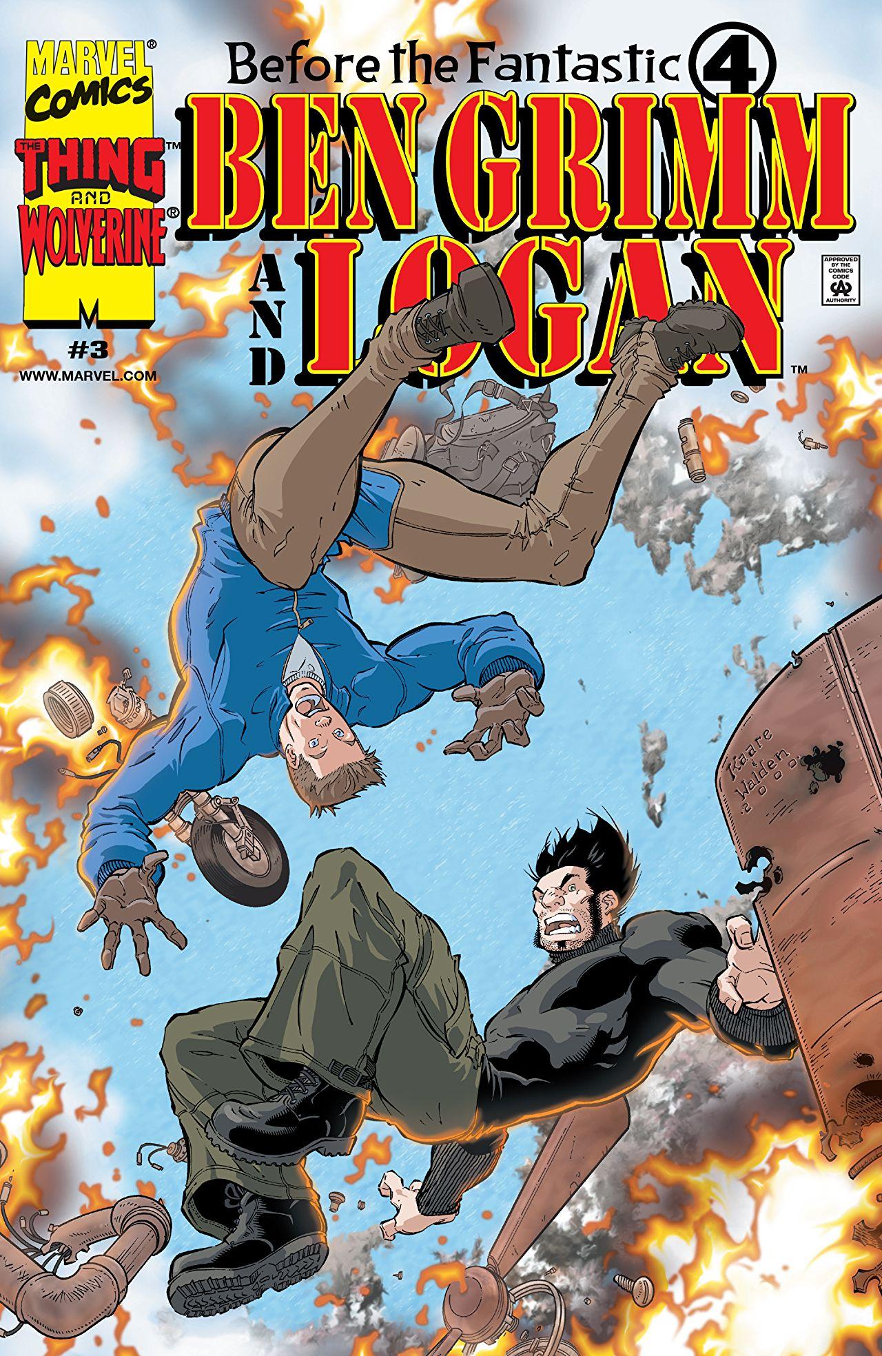 Before the Fantastic Four: Ben Grimm and Logan Vol 1 3