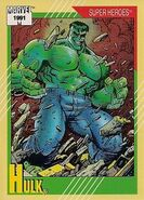 Bruce Banner (Earth-616) from Marvel Universe Cards Series II 0001