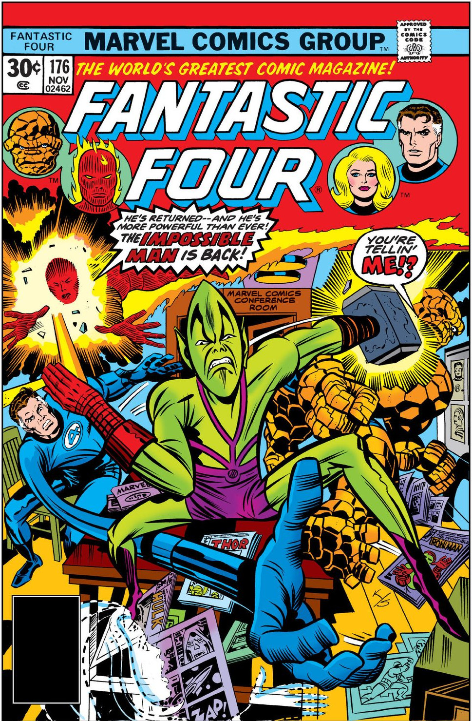 Fantastic Four Vol 1 176