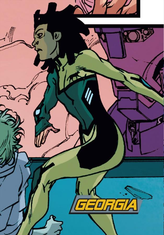 Georgia Dakei (Earth-616)