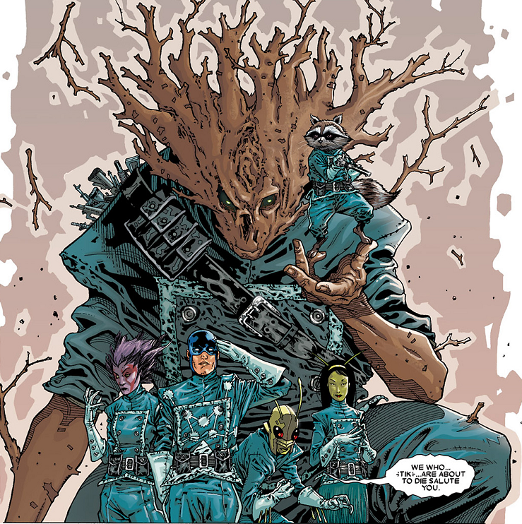 Guardians of the Galaxy (Earth-616) from Annihilation Conquest - Starlord Vol 1 1 001.png