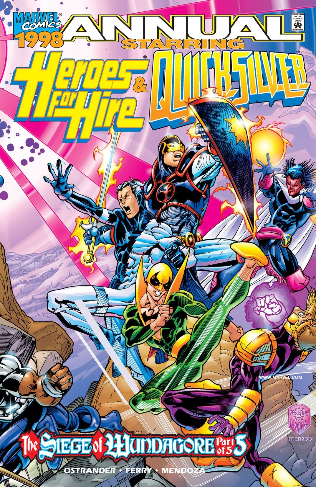 Heroes for Hire / Quicksilver Vol 1