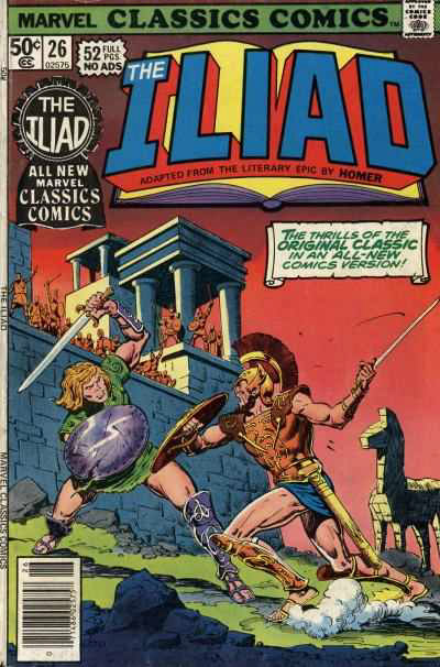 Marvel Classics Comics Series Featuring The Iliad Vol 1
