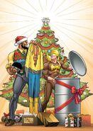 Power Man and Iron Fist Sweet Christmas Annual Vol 1 1 von Eeden Variant Textless