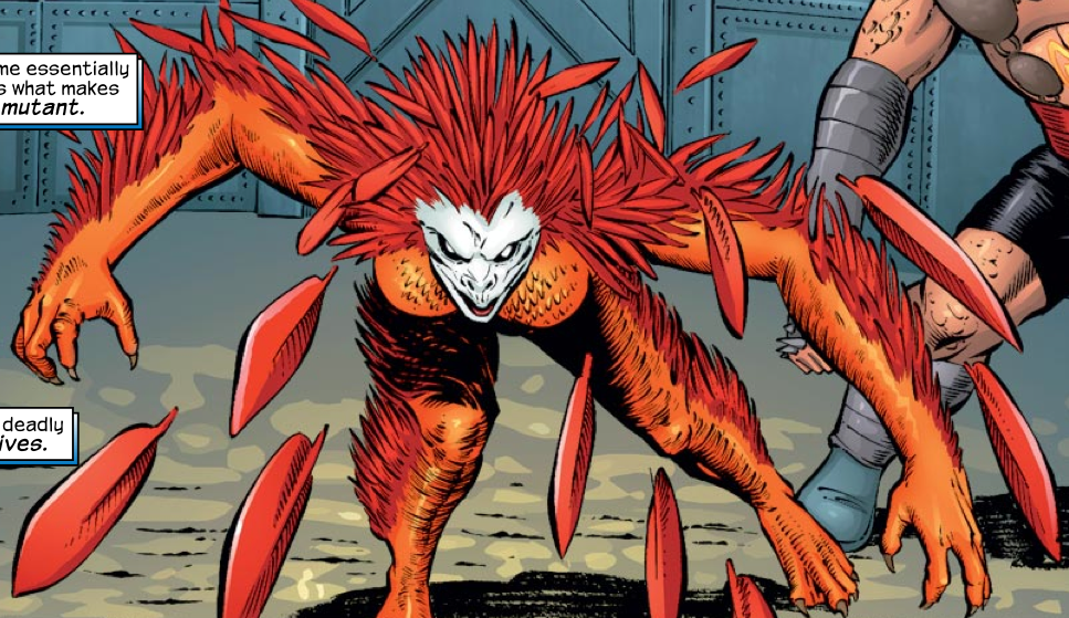 Quills (Earth-616)/Gallery