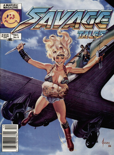 Savage Tales Vol 2 8