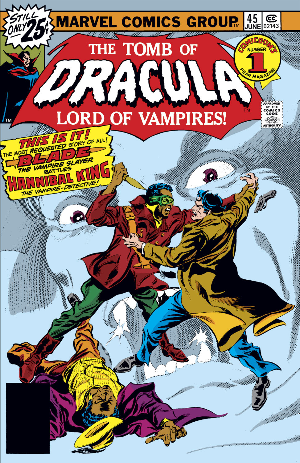 Tomb of Dracula Vol 1 45