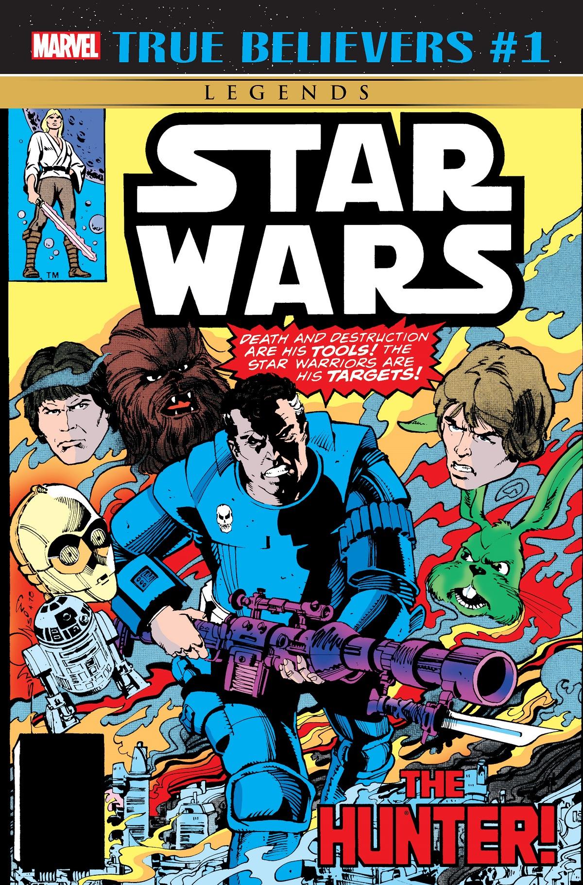 True Believers: Star Wars - The Hunter Vol 1 1