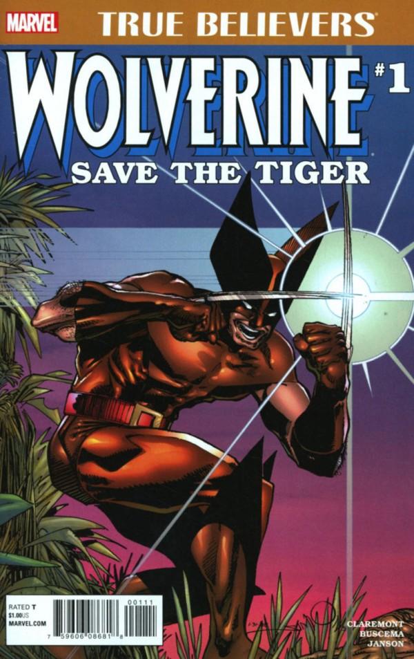 True Believers: Wolverine - Save the Tiger Vol 1 1