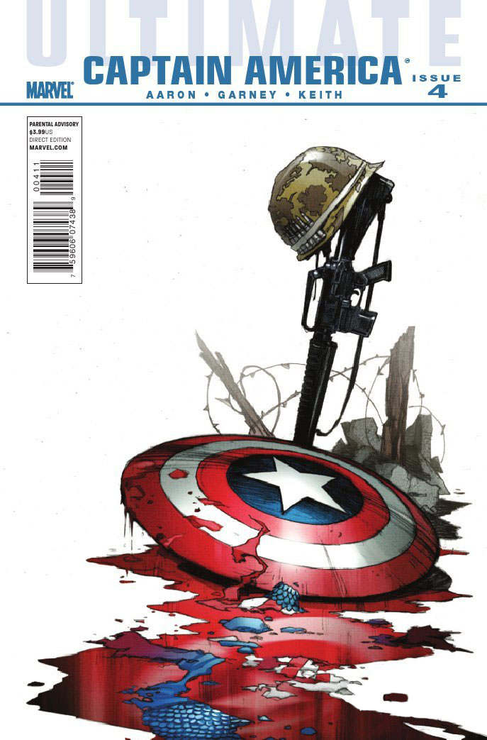 Ultimate Captain America Vol 1 4