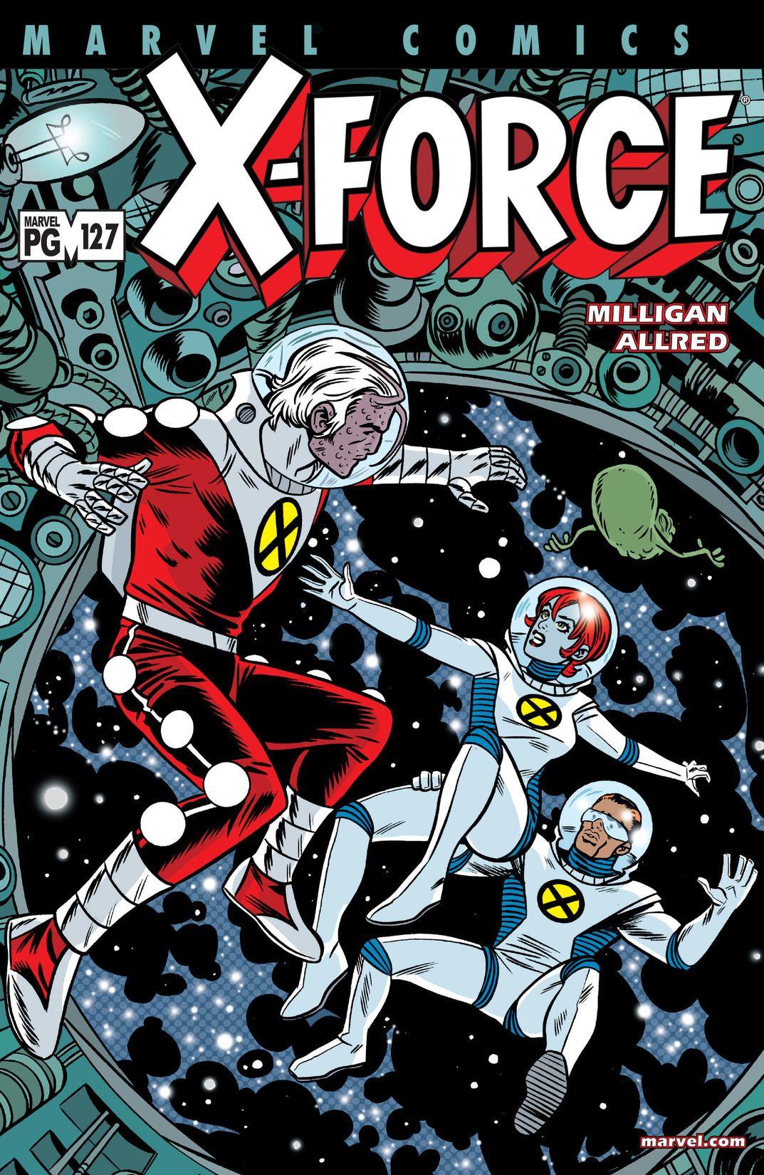 X-Force Vol 1 127