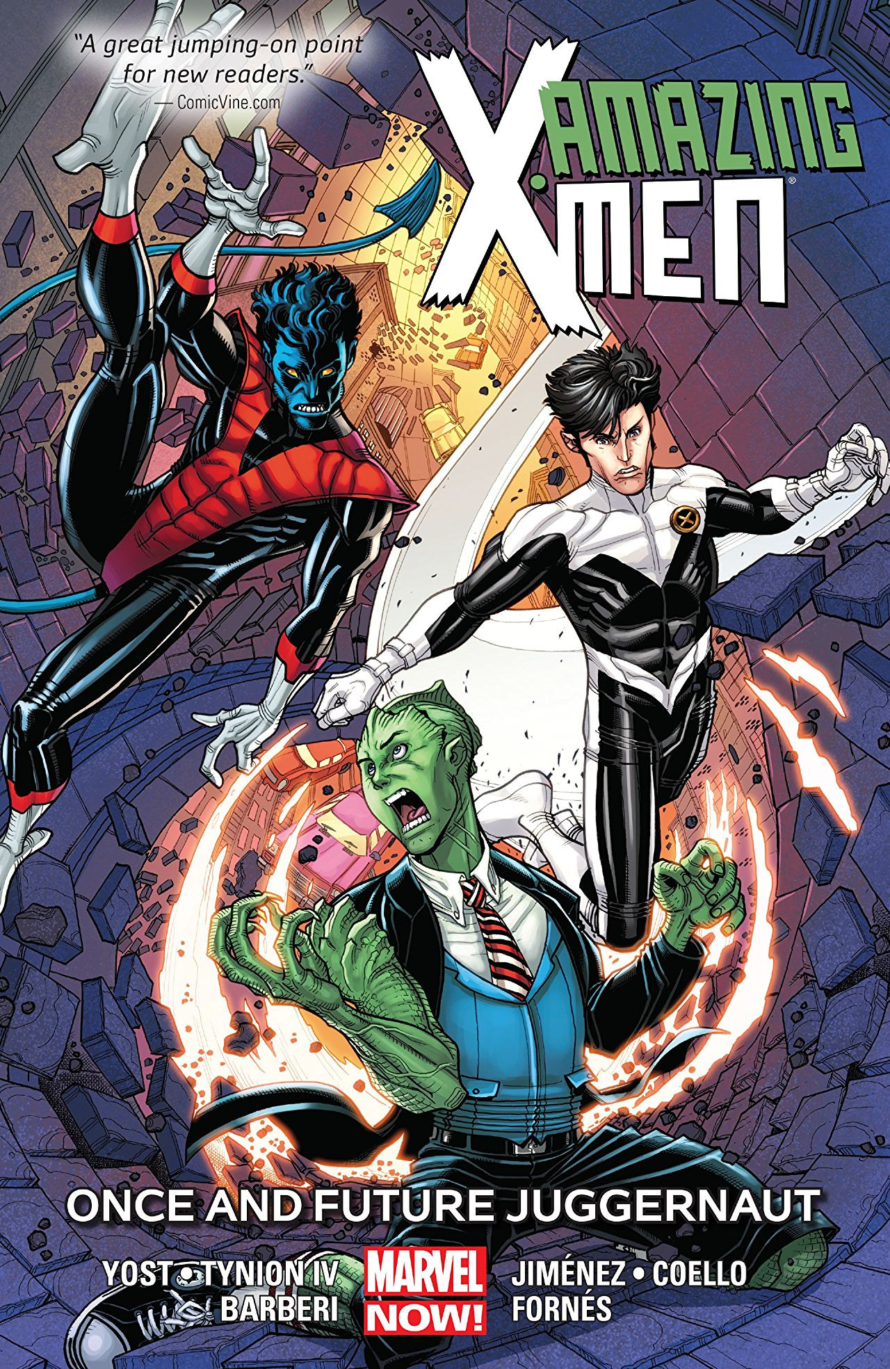 Amazing X-Men TPB Vol 1 3: Once and Future Juggernaut