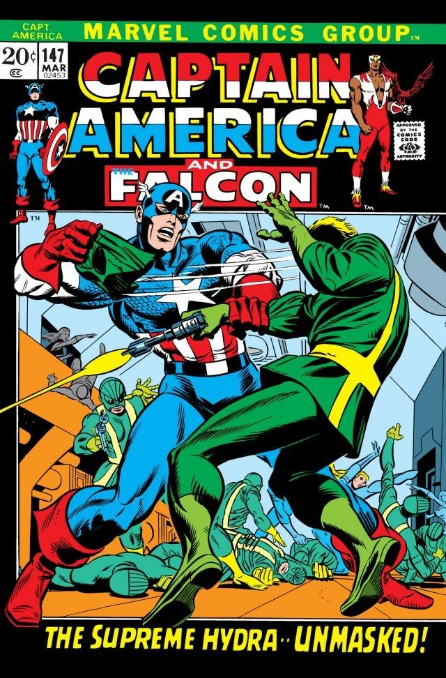 Captain America Vol 1 147