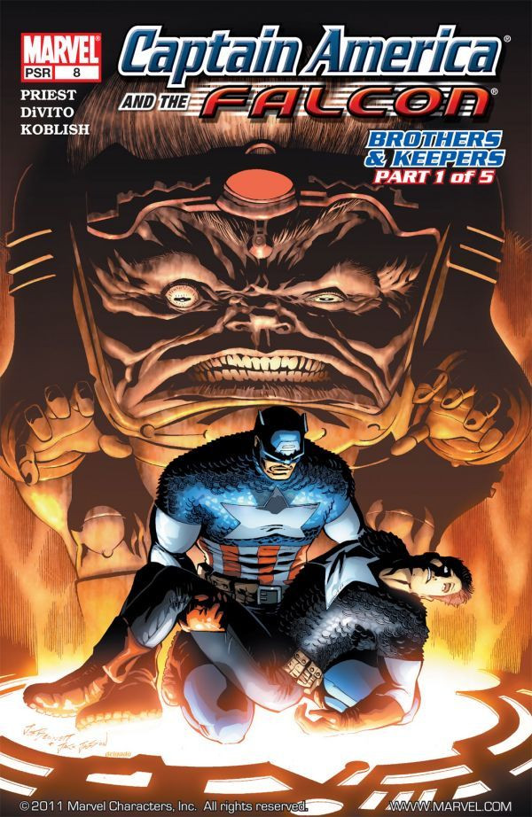 Captain America and the Falcon Vol 1 8