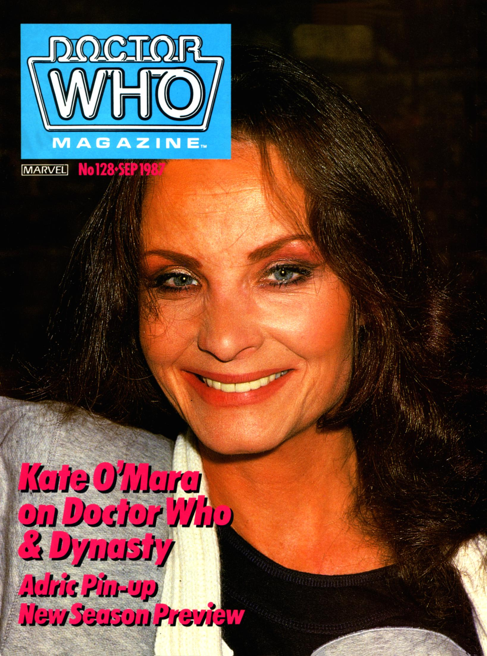 Doctor Who Magazine Vol 1 128