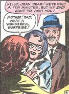 Jean Grey, John Grey and Elaine Grey (Earth-616) from X-Men Vol 1 5 0001