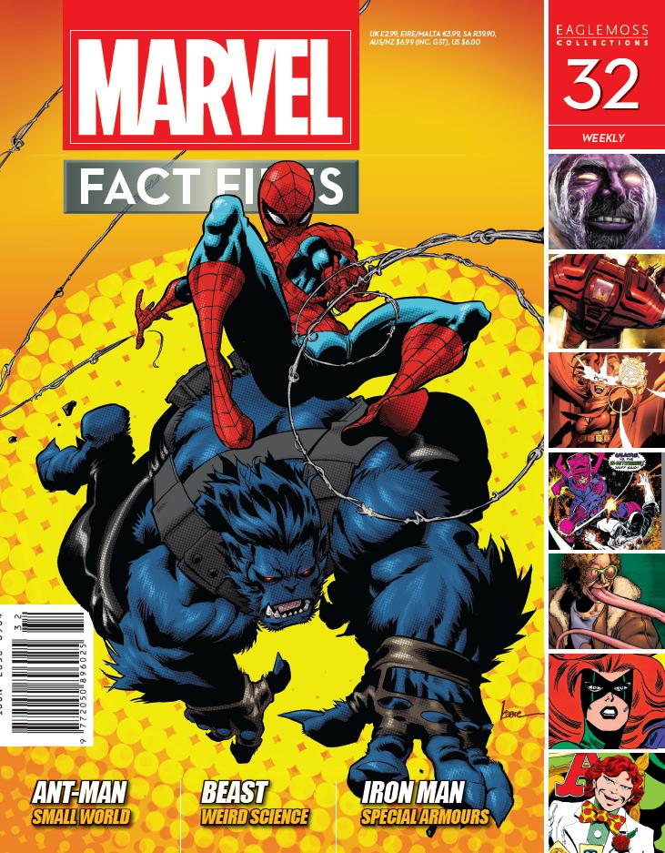 Marvel Fact Files Vol 1 32