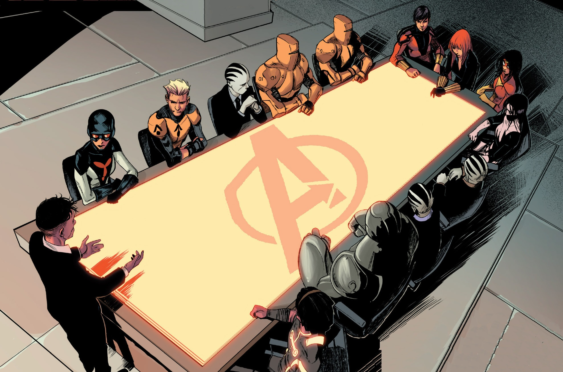 New Avengers (A.I.M.) (Earth-616)/Gallery
