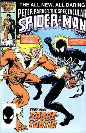 Peter Parker, The Spectacular Spider-Man Vol 1 116.jpg
