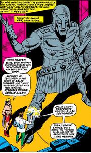 Romulus Augustulus (Earth-616), Ralph Roberts (Earth-616), and Cobalt-Robot (Earth-616) from X-Men Vol 1 34 0001.jpg